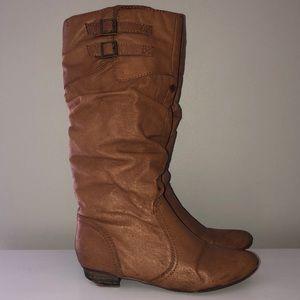 Steve Madden Tan Tall Boots